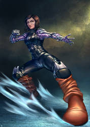 Alita Battle Angel by cric
