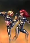 Commission-Black Widows