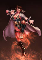 Commission-alt Chun Li by cric