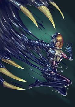 Commission-Spider Gwen Symbiote