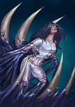 Commission-White Tiger Symbiote