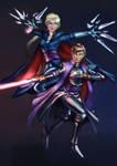 Commission-Darth Elsa and Darth Anna