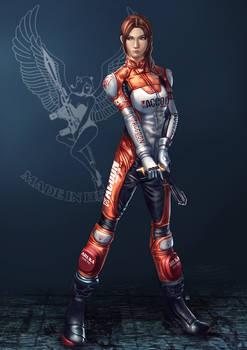Claire Redfield Elza Walker Suit Mark 2