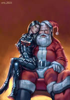 Commission- Baroness and Santa