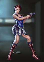 Commission- Resident Evil 3 Jill Valentine