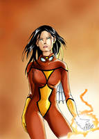 Jessica Drew, The Spider Woman by cric