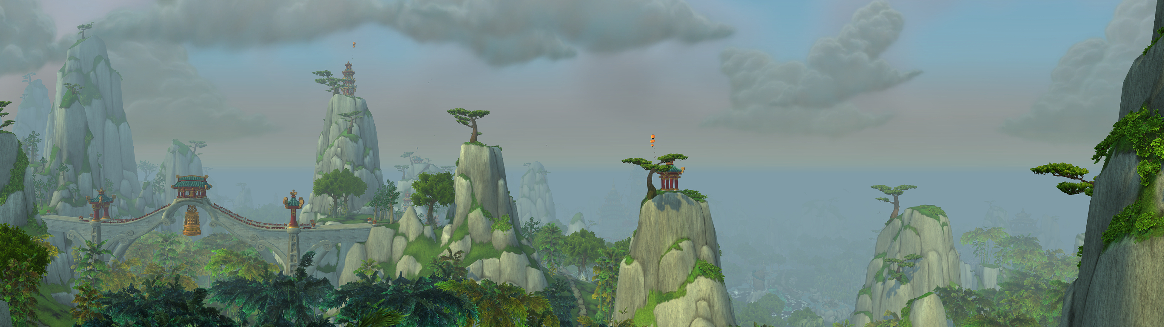 The Jade Forest Widescreen Dual Screen 3840x1080 By Countcardboard