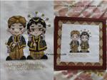 Central javanese wedding got framed!