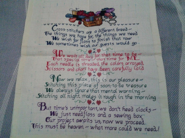 Stitcher's verse by Katezath