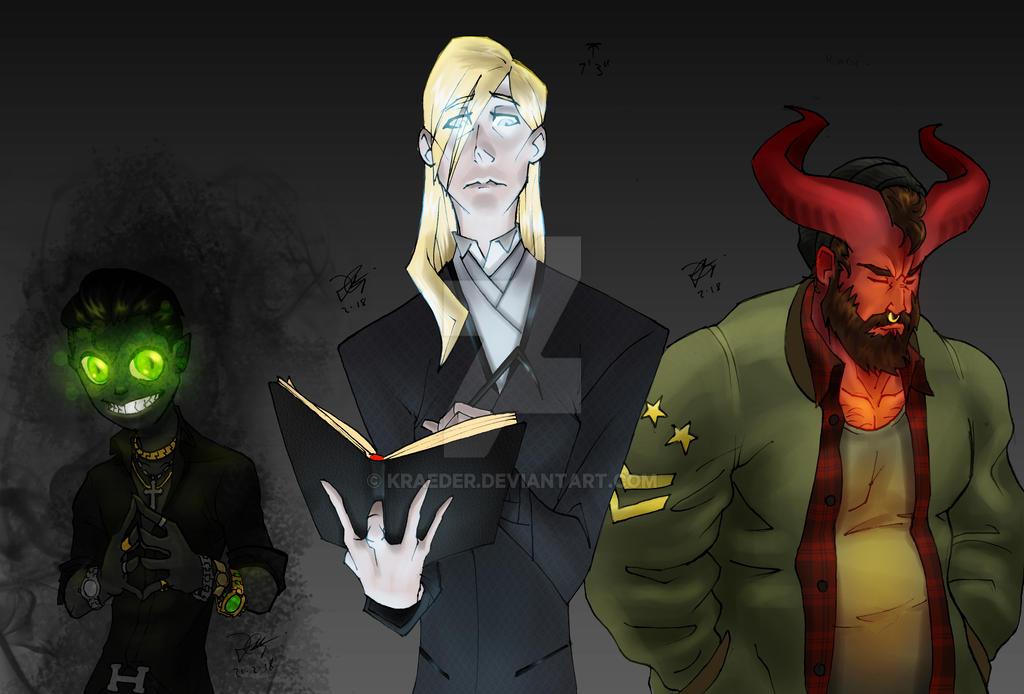 The Bleak Triad by KRAEDER