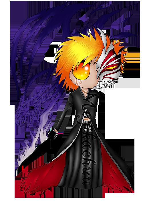 Mike Custom Ichigo Bleach Chibi By BlindMegg