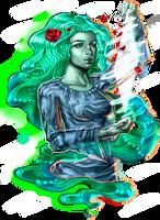 the Goddess of wind by Crishzi