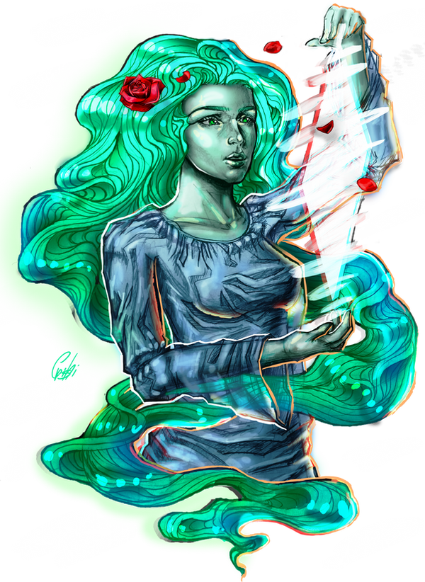 the Goddess of wind by Crishi