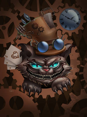 a twist to the Cheshire Cat by Crishzi