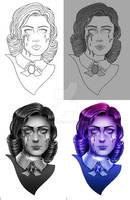 Tattoo redesign- Bioshock Elizabeth by Crishzi