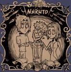 Naruto Tim Burton style by Crishzi