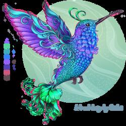Custom Adoptable Hummingbird