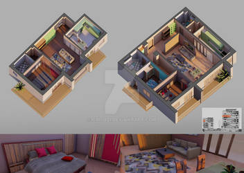 Another project of rendering by Crishzi