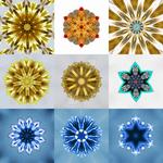 Kaaleidoscope/ mandala designs SET 1 by Crishzi