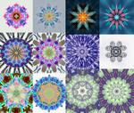 Kaaleidoscope/ mandala designs SET 2 by Crishzi
