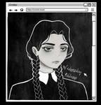 Wednesday Addams by Crishzi