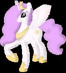 MLP:FiM - Princess Celestia - Colored