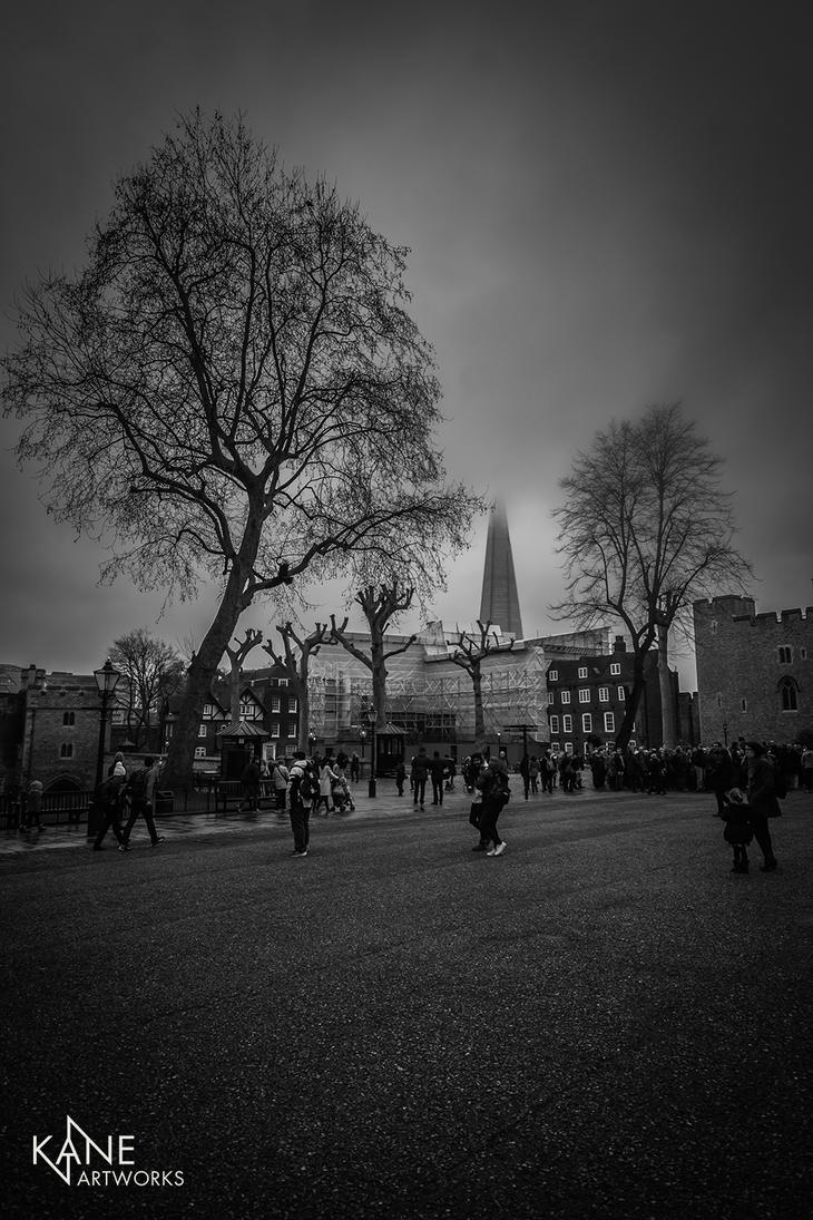 Gloomy London by KaneArtworks