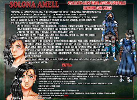 DAI: Solona Amell Profile