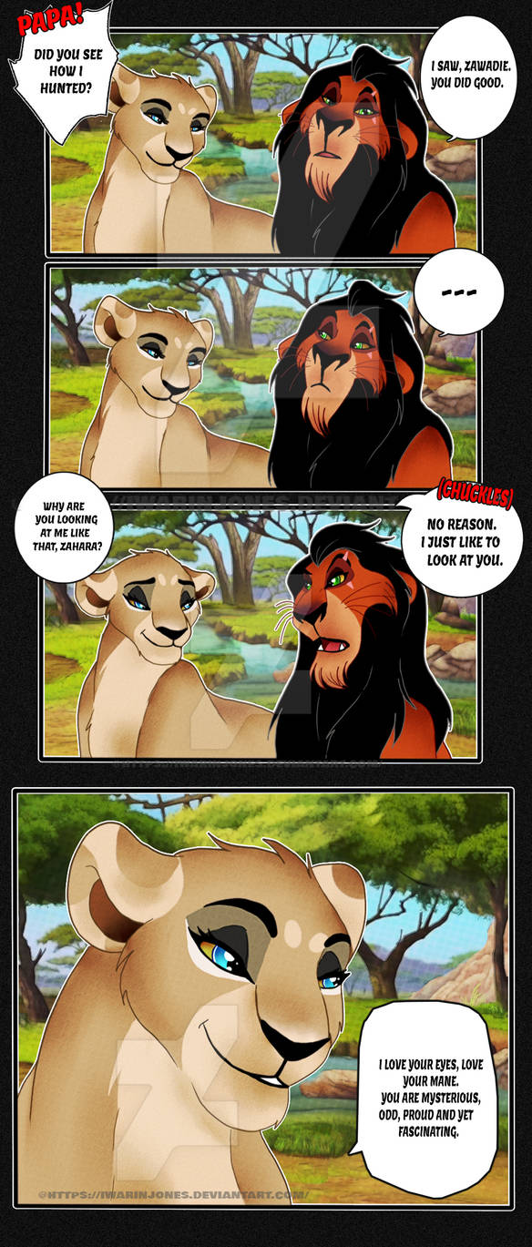 Scar x Zahara: Your words hurts | Page 1