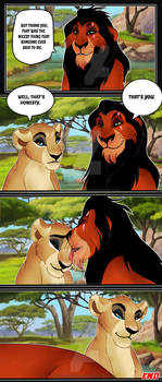 Scar x Zahara: Your words hurts   Page 3   END
