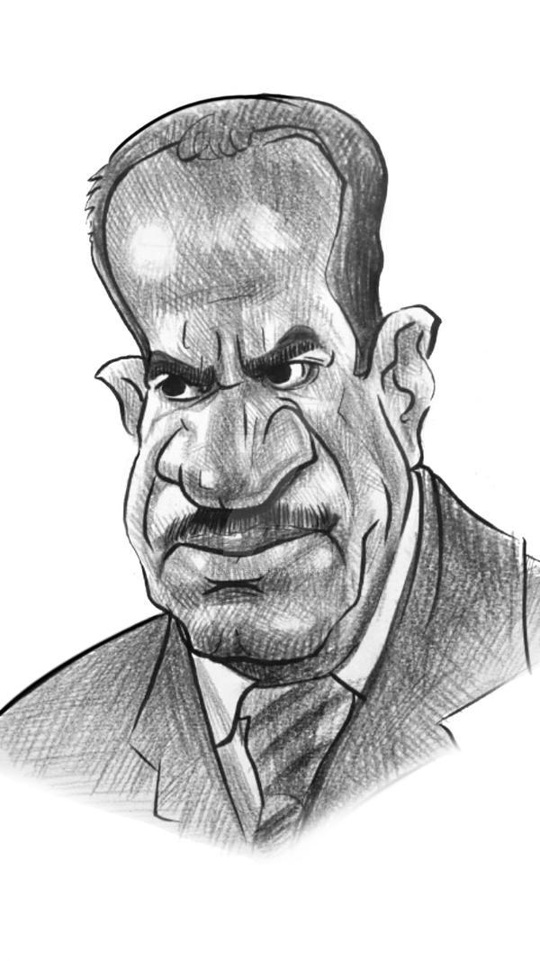 Shivaji-Satam-Caricature by vijayshetye on DeviantArt
