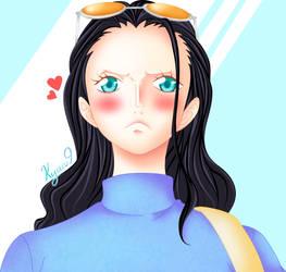 Nico robin coloring [by Kyaru9]