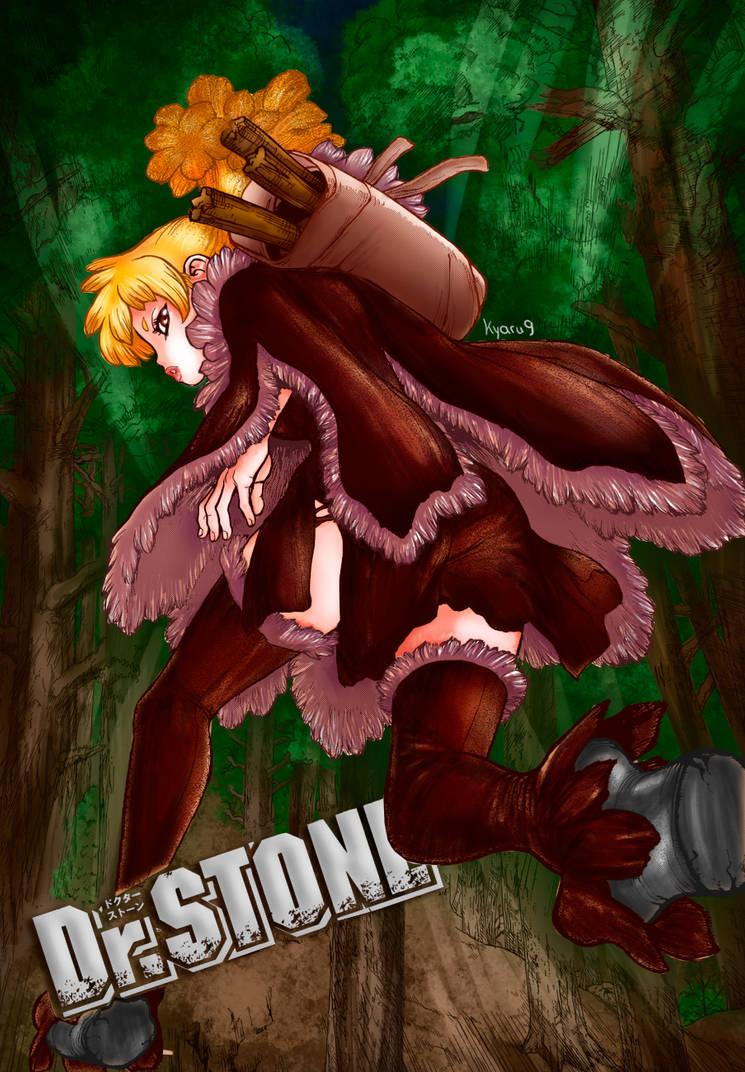 Homura (Dr. Stone) - Color by Kyaru9
