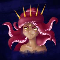 Octopus Girl #drawthisinyourstyle
