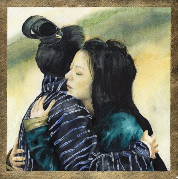 Mulan and Wentai by Shigure92