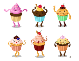 cupcakes by AgataWiejak
