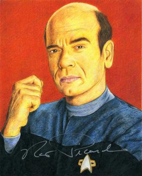 Star Trek - The Doctor by MikesStarArt