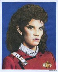 Star Trek - Saavik by MikesStarArt
