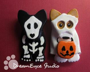 Spooky Dog Halloween Jewelry