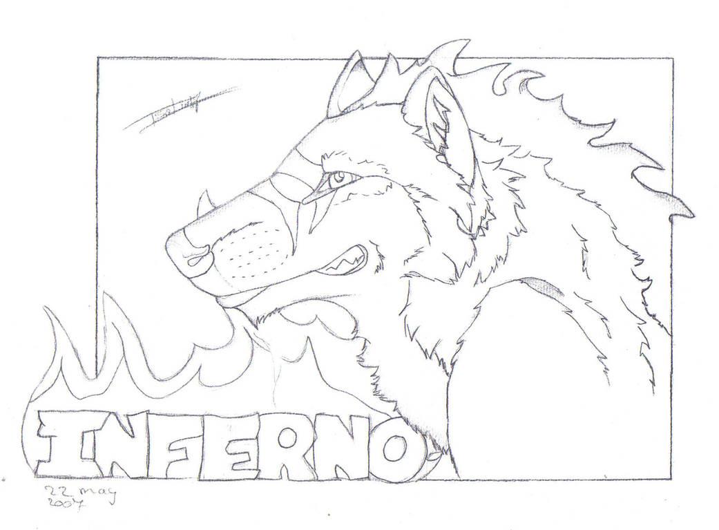 Inferno lineart- trade ruxxer