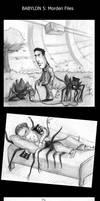 Babylon 5 - The weird life of Mr. Morden by Echo-Pix