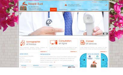 Website interface designed by Cresus by cresus-tunisie