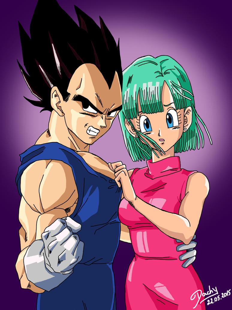My Bulma By Goku Asiendo Amor Con Milk