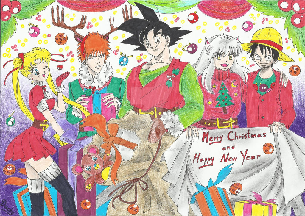 Merry Christmas and Happy New Year (2016) by Michael1525 on DeviantArt