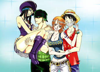 Fanfiction nami and luffy ONE PIECE