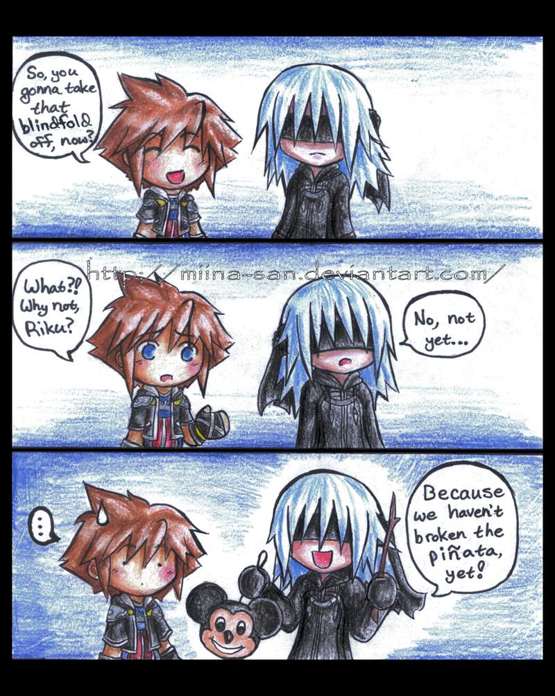 Why Riku Wears a Blindfold by Miina-san