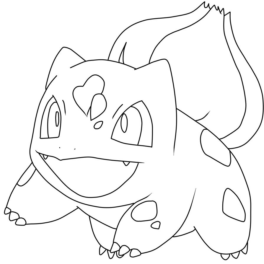 Pokemon Bulbasaur Coloring Pages