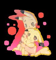 Pikachu love by iNetal