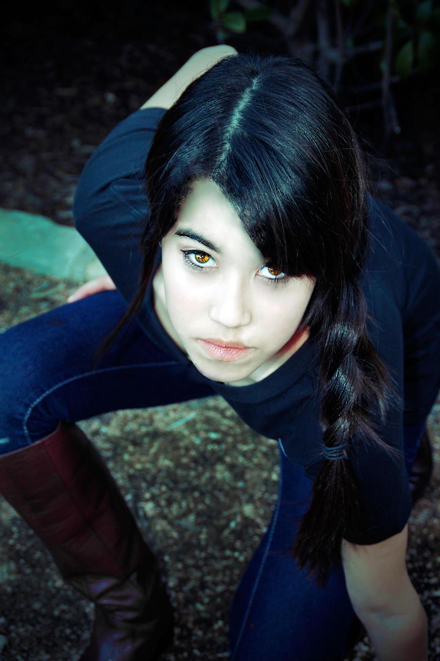 The Hunger Games: Katniss Everdeen by musicity