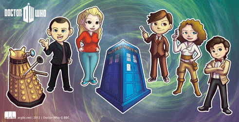Dr Who Chibi's